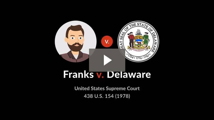 Franks v. Delaware