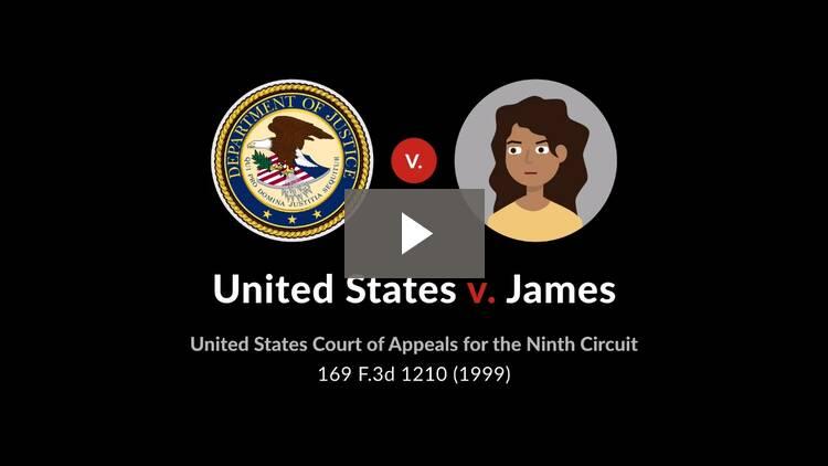 United States v. James