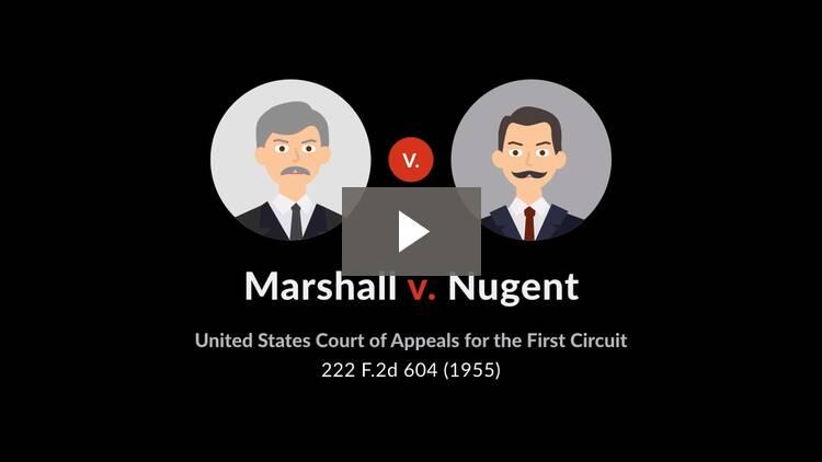 Marshall v. Nugent