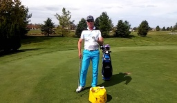 Use Impact Bag to Learn Correct Weight Shift in Golf Swing