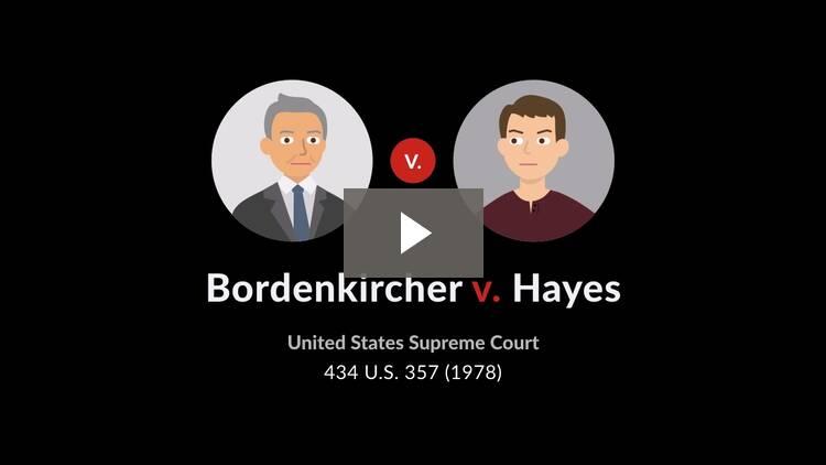 Bordenkircher v. Hayes