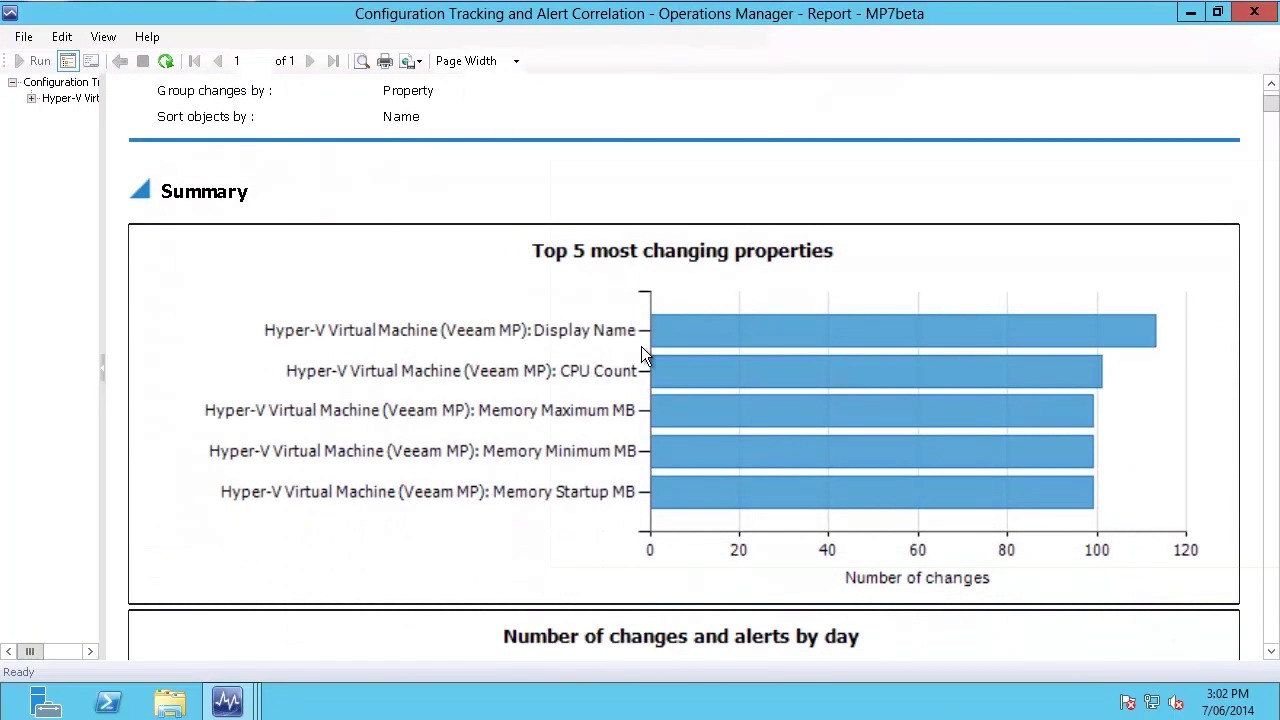 Product: MP MPv8-Change_Analysis_Reporting