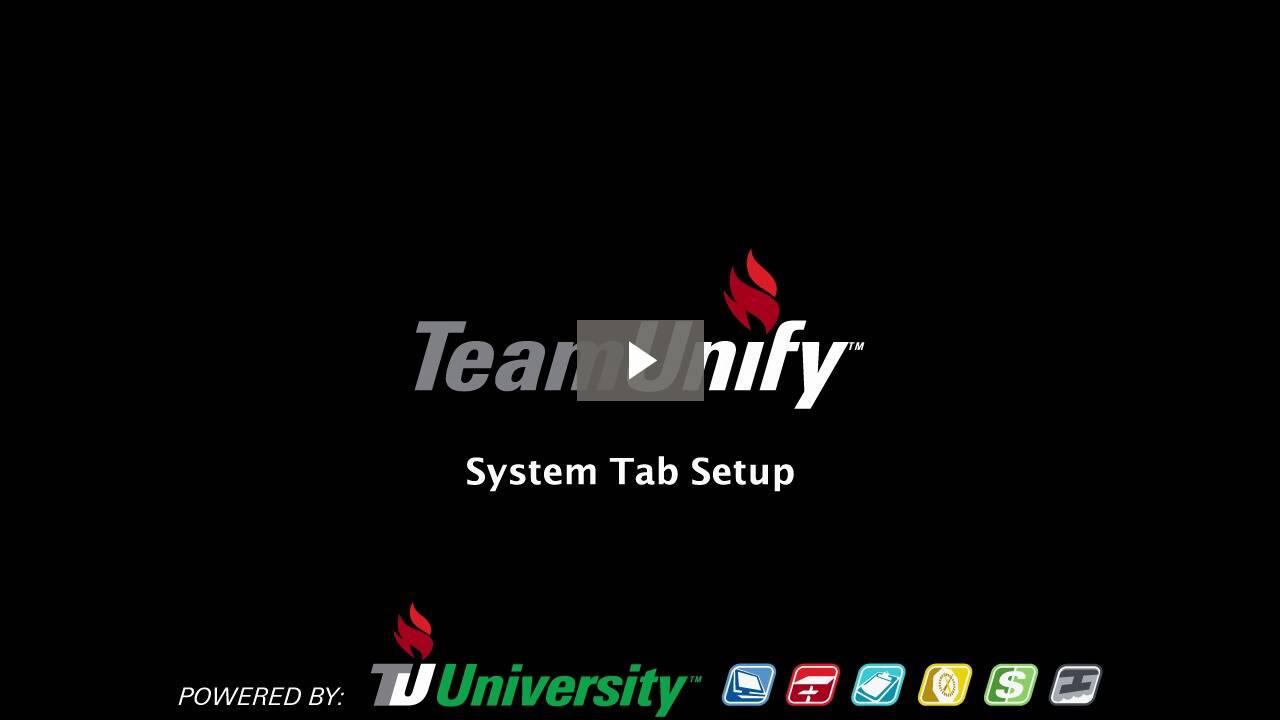 System Tab