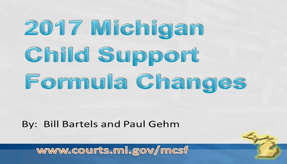2017 Michigan Child Support Formula Changes Easyblog