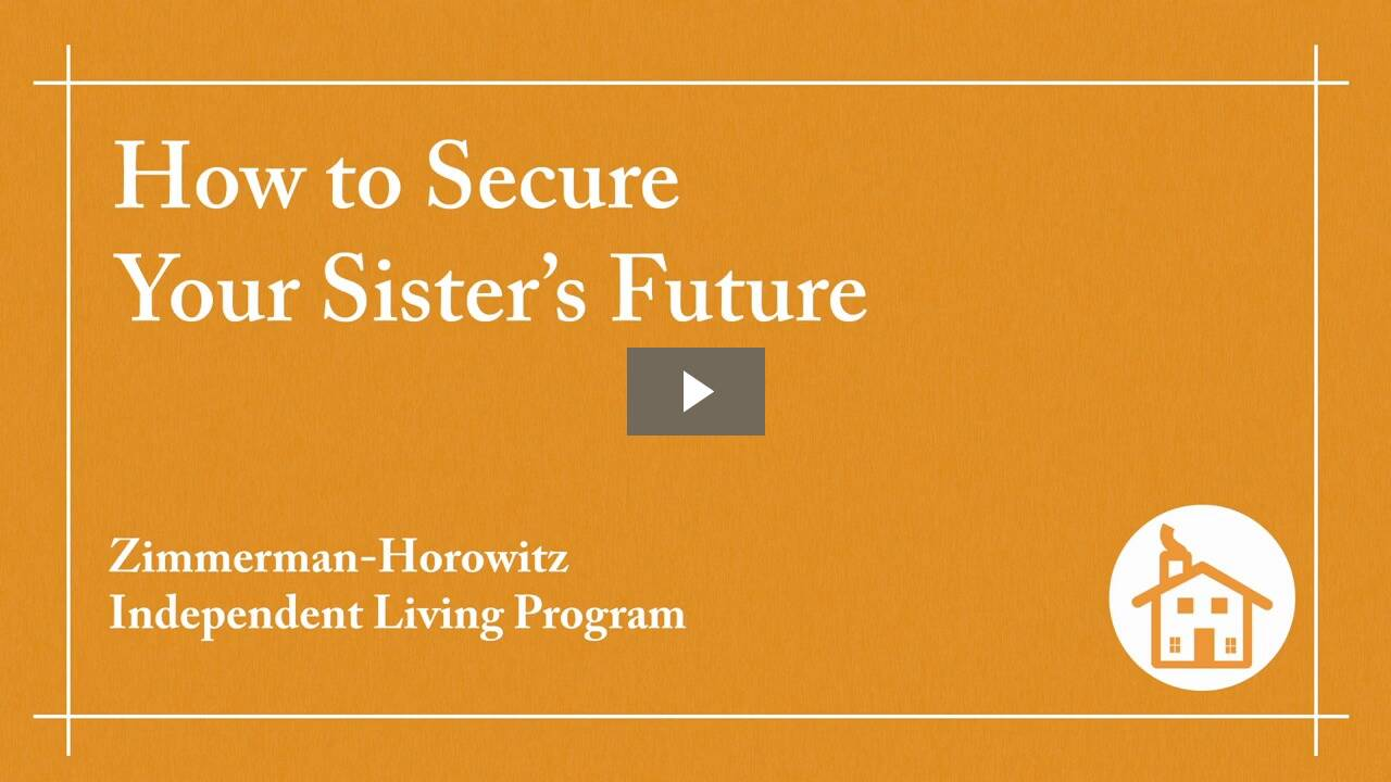 How to Secure Your Sister's Future