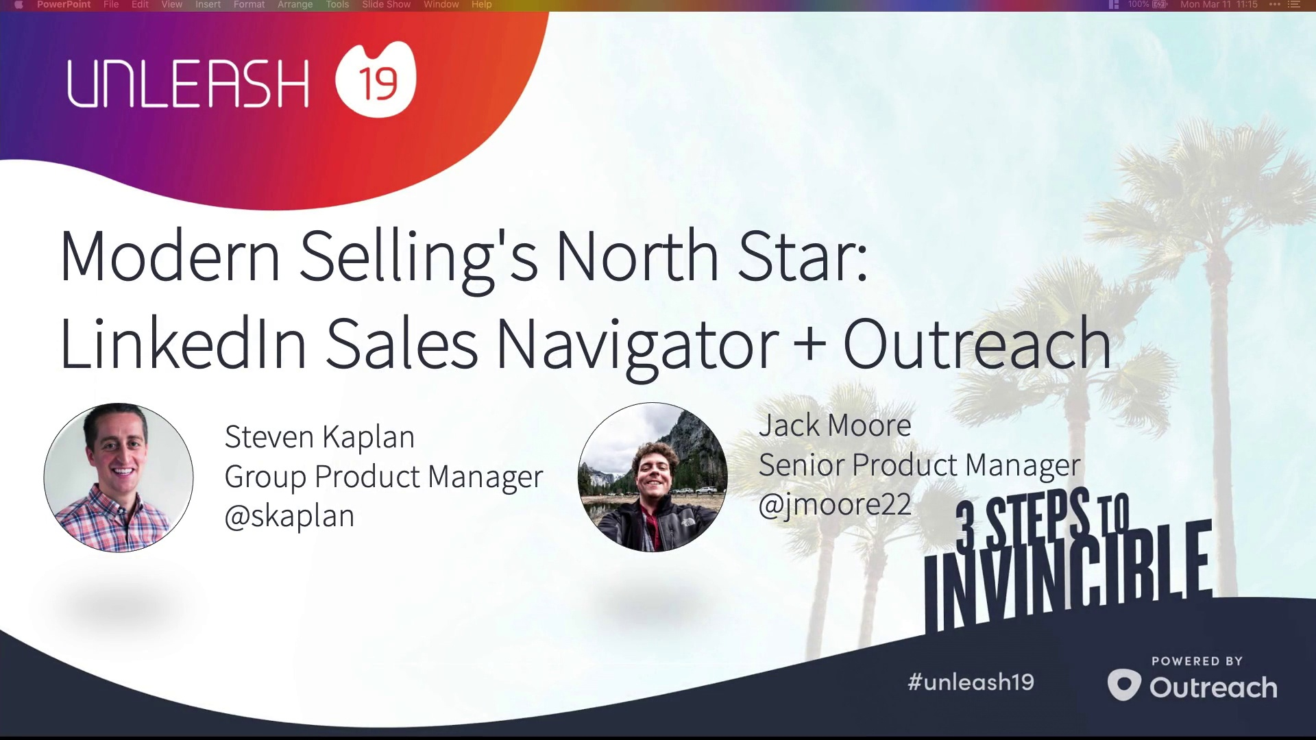 Modern Selling's North Star, LinkedIn Sales Nav and Outreach - Steven Kaplan, Jack Moore