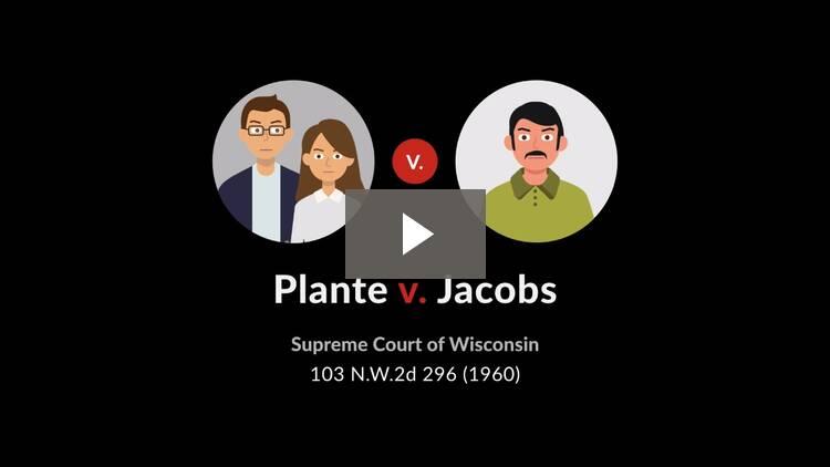 Plante v. Jacobs