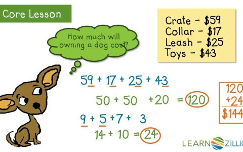 Add up to four 2-digit numbers using place value | LearnZillion