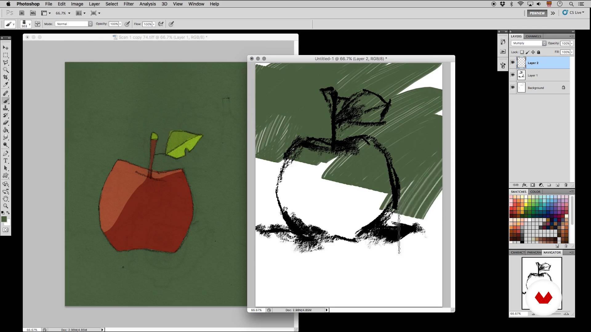 "Colorear Vs. Pintar   ""Pinceles y pixeles: introducción a ..."