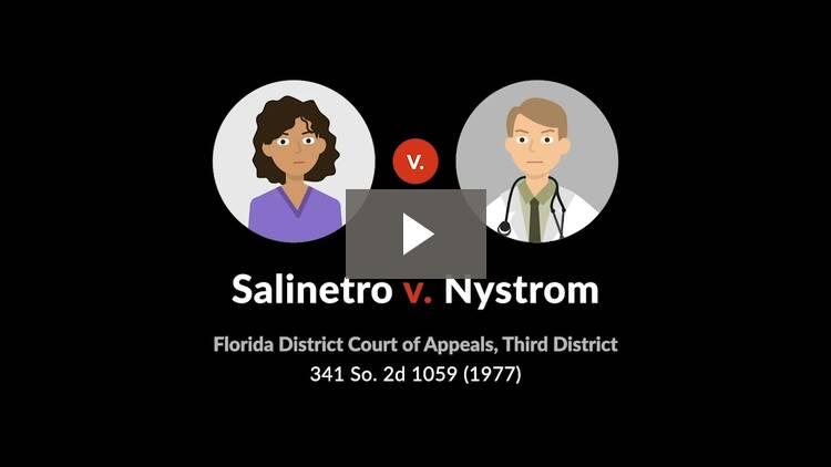 Salinetro v. Nystrom