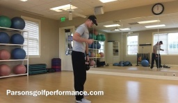 Golf Fitness High Intensity Routine