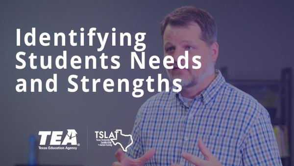 Identifying Students Needs and Strengths