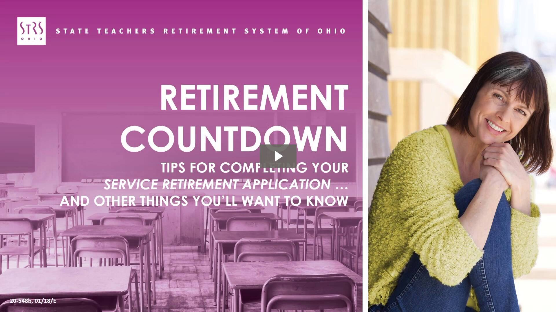 Thumbnail for the 'Retirement Countdown' video.