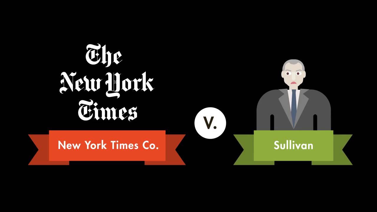 new york times v sullivan