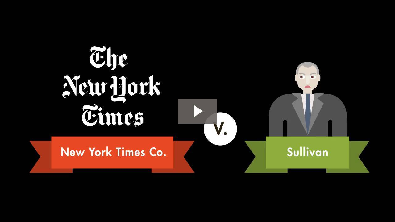New York Times Co. v. Sullivan