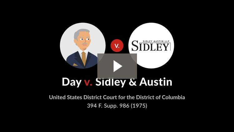Day v. Sidley & Austin