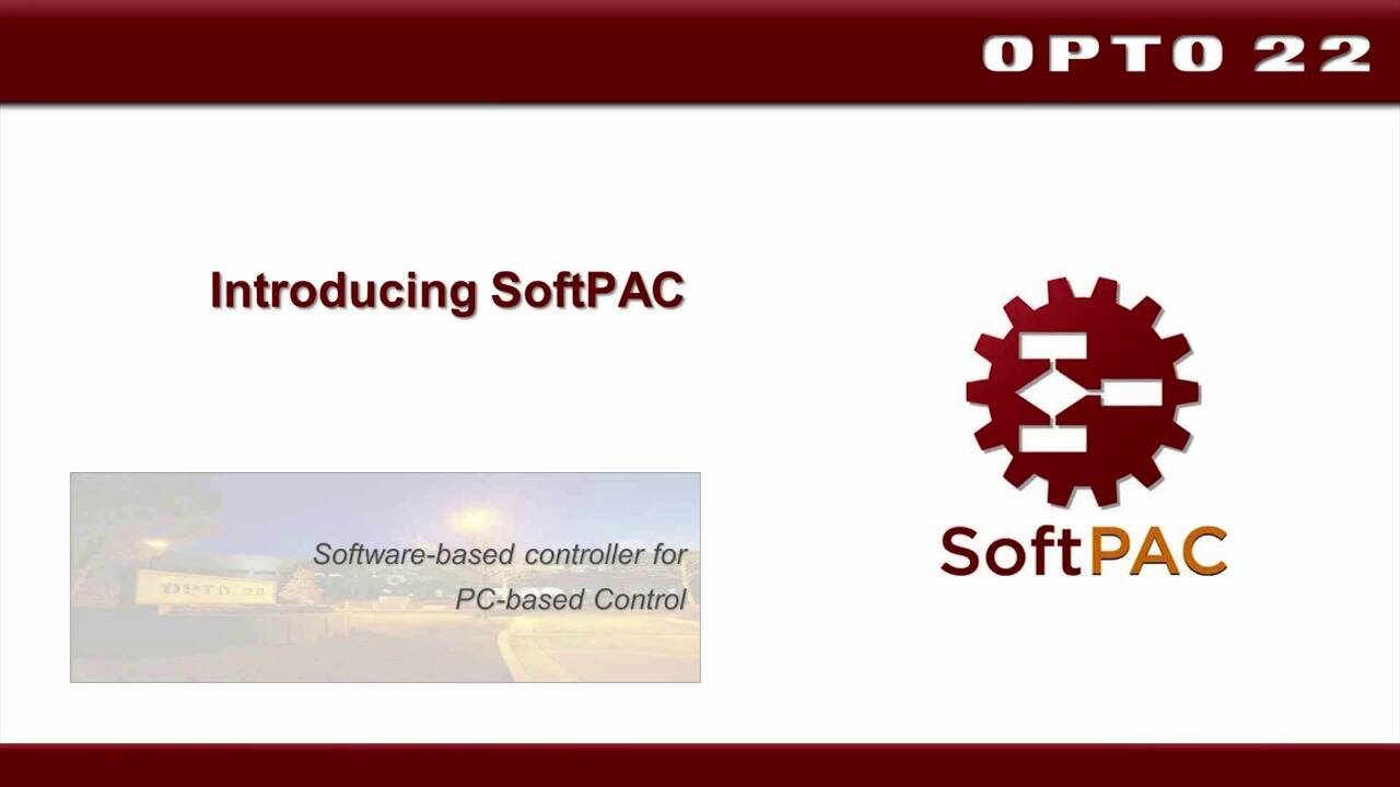 Introduction to Opto 22 SoftPAC