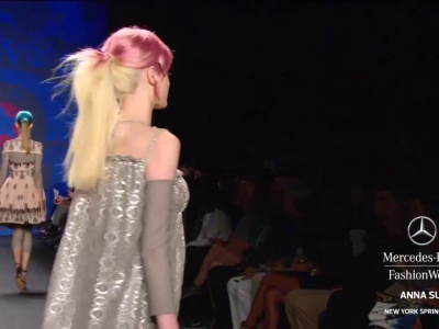 Anna Sui highlights, Mercedes Benz Fashion Week spring 2013 collections