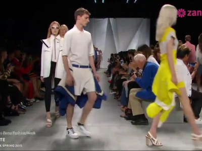 Défilé Lacoste Printemps/Eté 2015 : New York Fashion Week