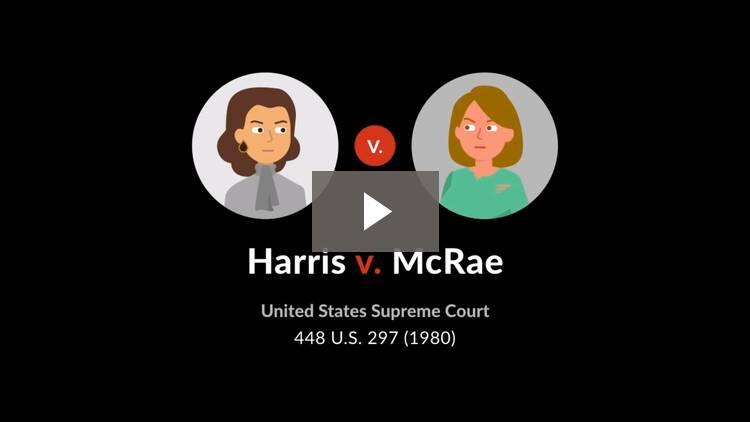 Harris v. McRae