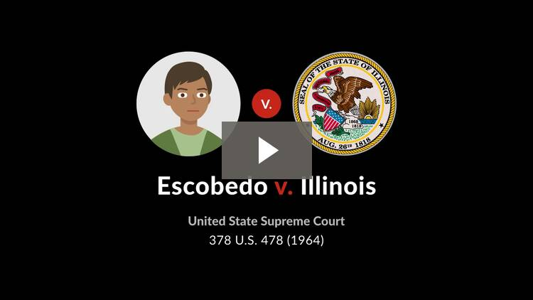 Escobedo v. Illinois