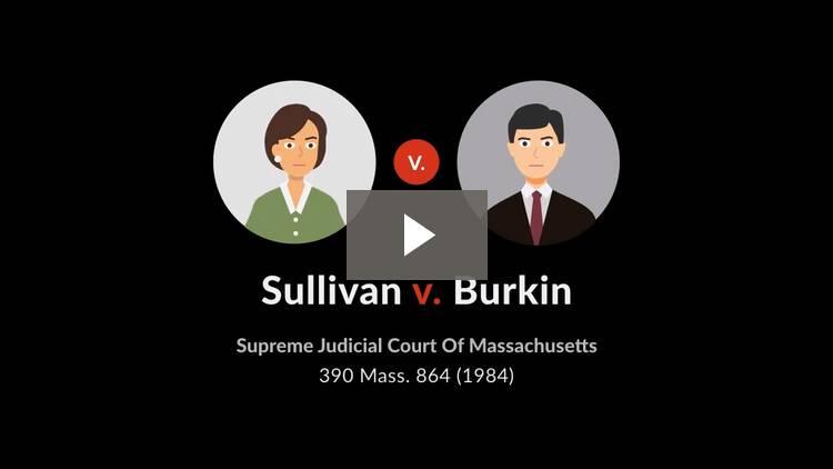 Sullivan v. Burkin