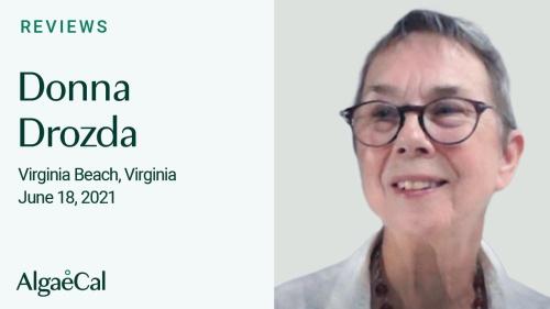 Testimonial thumbnail portrait of Donna Drozda