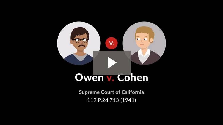 Owen v. Cohen