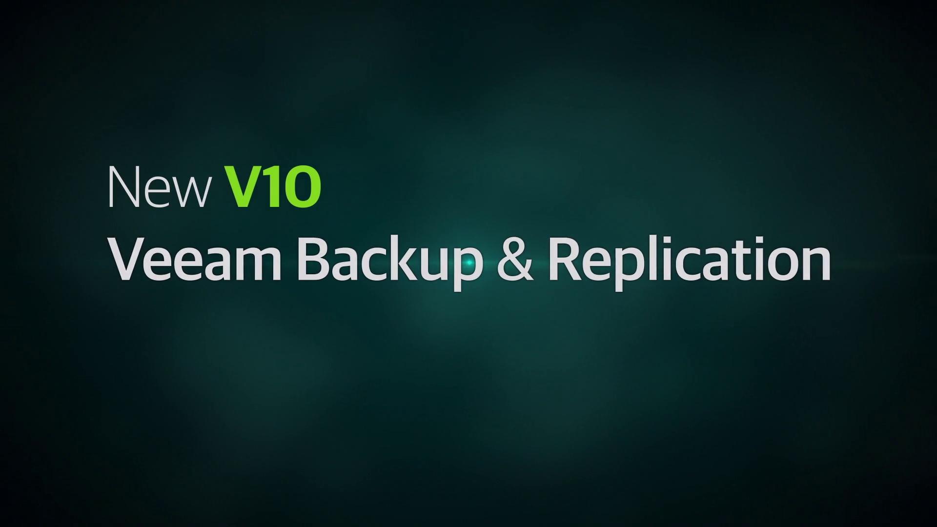 Product Launch - VAS v10 - Overview Video - VBR Overview - EN