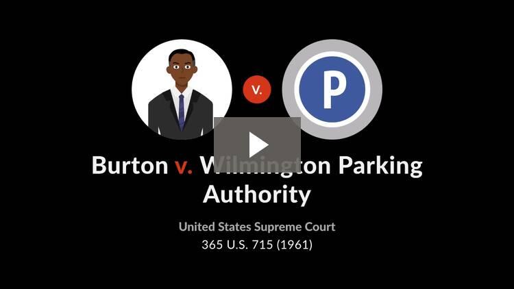 Burton v. Wilmington Parking Authority