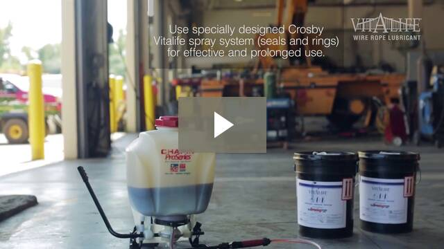 Crosby Vitalife - Wire Rope Lubricant