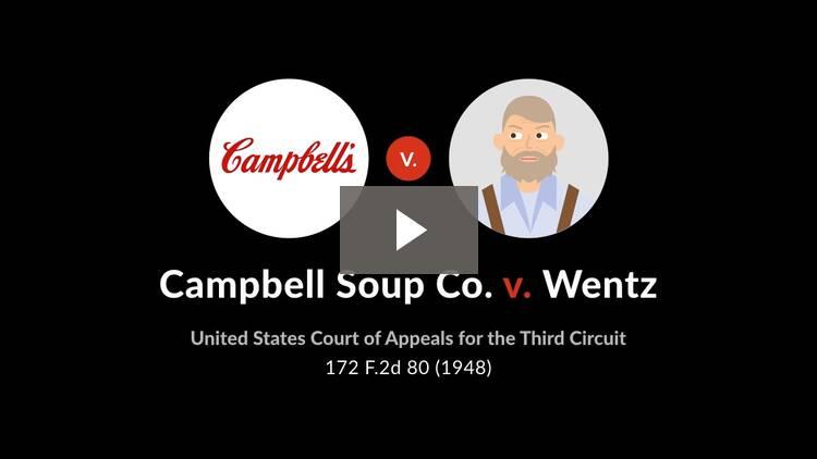 Campbell Soup Co. v. Wentz