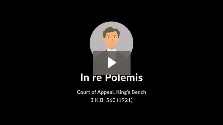 In Re Polemis