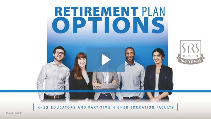 Thumbnail for the 'Retirement Plan Options: New Member' video.