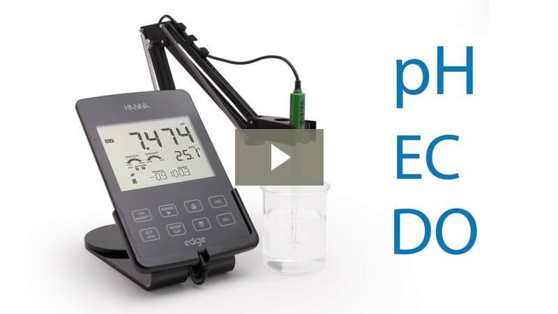 Edge Multiparameter Ph Meter Hi2020 Hanna Instruments