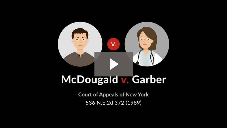 McDougald v. Garber