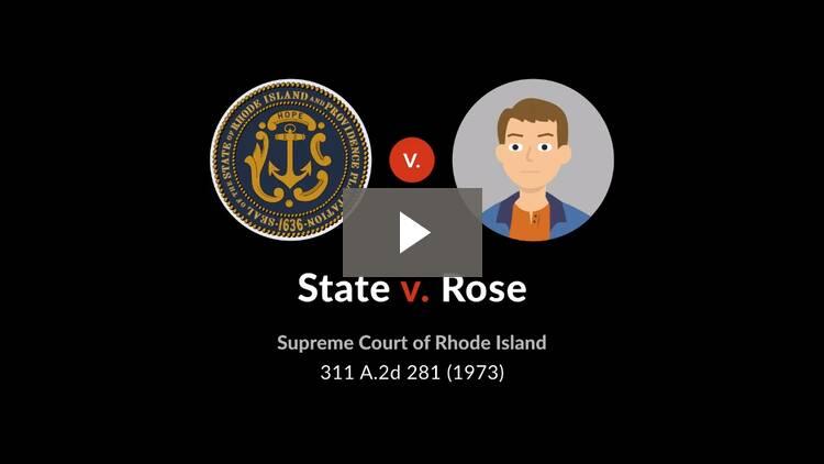 State v. Rose