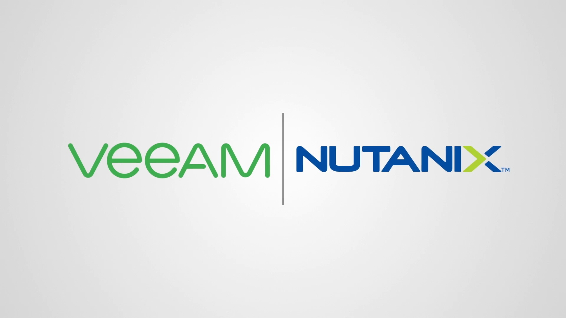 Nutanix and Veeam Alliance Leads discuss exciting new joint solutions