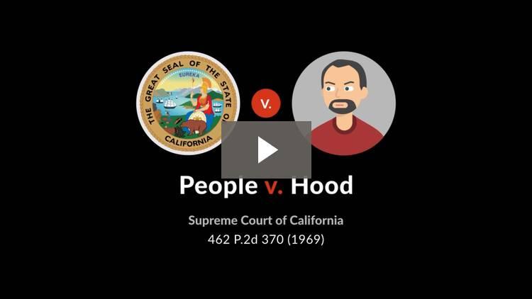 People v. Hood