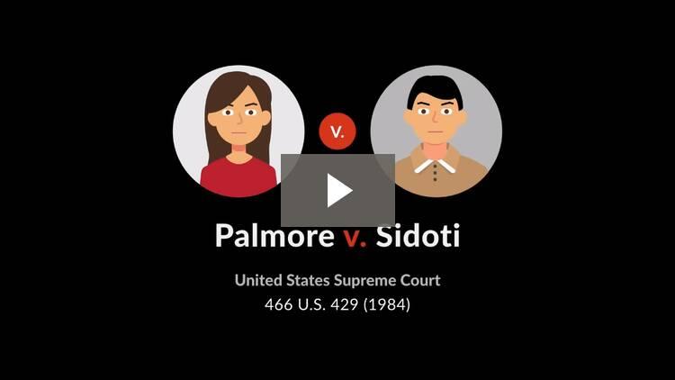 Palmore v. Sidoti