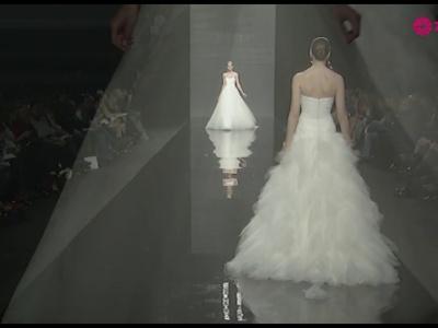 Desfile Rosa Clará 2014, la colección de novia en movimiento