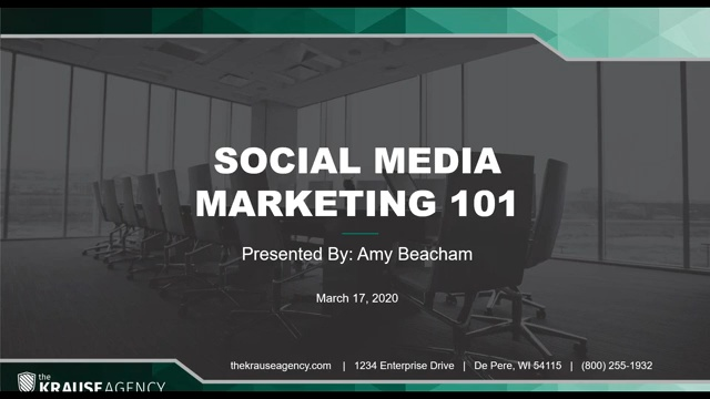 Social Media Marketing 101
