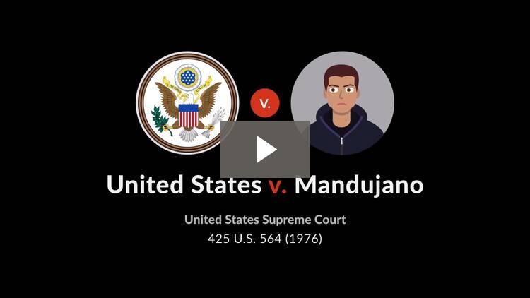 United States v. Mandujano