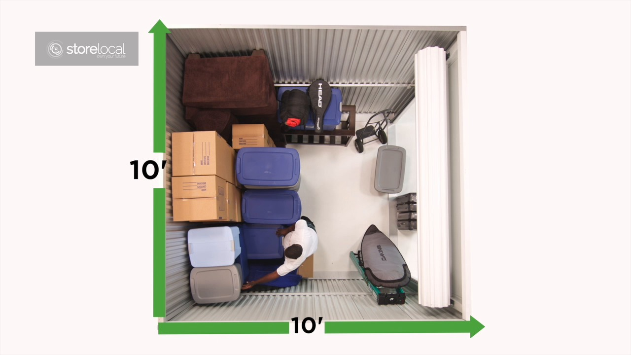 Charmant Lockaway Storage