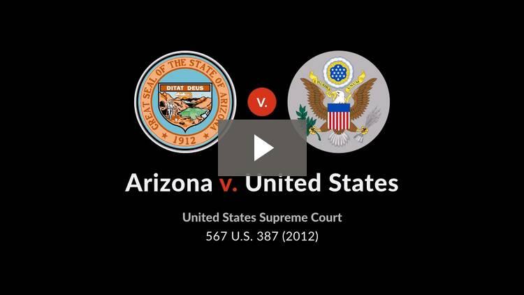 Arizona v. United States