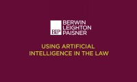 Still image from 'Using Artificial Intelligence in the law' video