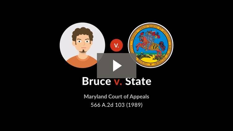 Bruce v. State