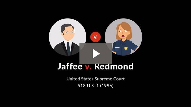 Jaffee v. Redmond