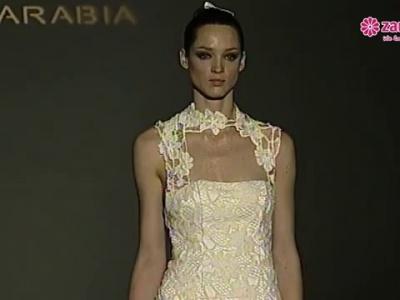Encantadores vestidos del desfide Franc Sarabia 2013