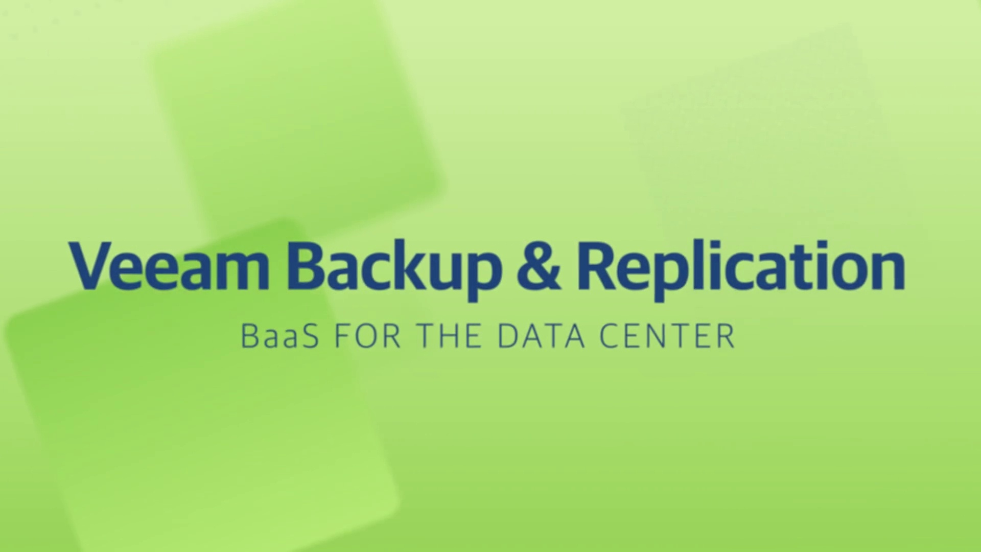 Product launch v11 - VBR - BaaS for the Data Center